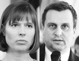 Политики Керсти Кальюлайд (Эстония) и Андрей Данко (Словакия) хором выступили с примирительными заявлениями в адрес России