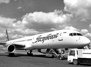 Самолет Boeing 757-200 авиакомпании «Якутия»