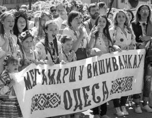 75% жителей Одессы считают родным языком русский, лишь 18% – украинский