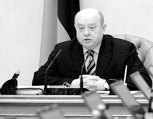 Премьер-министр Михаил Фрадков доволен работой ФНС