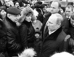 В рейтинге претензий к Путину произошли перемены