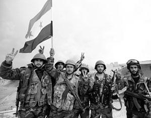 Исход войны в Сирии предрешен, но Запад старается не замечать этого