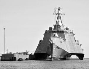 К созданию нового фрегата США подтолкнул провал проекта литоральных боевых кораблей