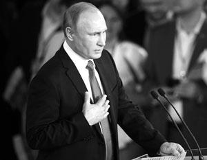Путин хочет сделать абсолютно необратимым то, чем он занимался все эти годы