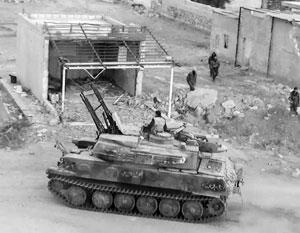 Сирийская армия с боем заняла часть авиабазы Абу Дахур и одноименного города