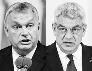Виктор Орбан и Михай Тудосе