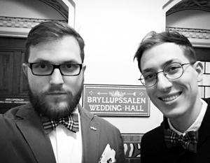 Павел Стоцко и Евгений Войцеховский в Копенгагене