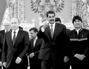 Госсекретарь США Рекс Тиллерсон обеспокоился растущим российским влиянием в Латинской Америке и поставками оружия недружественным Америке режимам