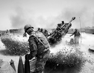 Для коалиции во главе с США пушки были основным орудием штурма арабских городов