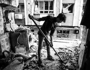 Многолетняя война превратила кварталы Восточной Гуты в настоящие руины