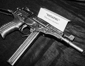Компактный пистолет-пулемет «Кипарис» (ОЦ-02) разрабатывался в советское время для сотрудников МВД