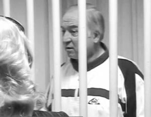 Сергей Скрипаль во время суда в России