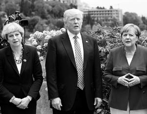 Тереза Мэй получила поддержку Дональда Трампа и Ангелы Меркель