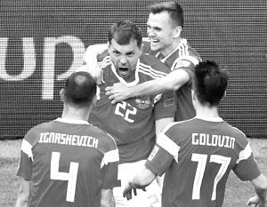Игра российских футболистов впечатлила даже самых ярых скептиков