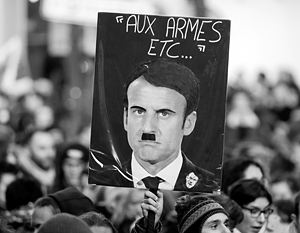 Вместо заявленного «конца истории» на парижских мостовых вновь бушует традиционная классовая война