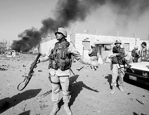 Американские солдаты в Ираке, 2003 год