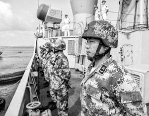 База в Джибути стала первой зарубежной военной базой армии Китая