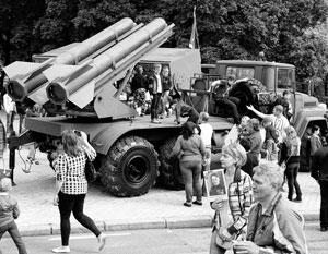 Донецкий ракетный комплекс «Снежинка» вызвал ехидные комментарии в Киеве