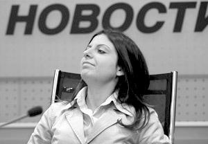 Главный редактор телеканала «Russia Today» Маргарита Симоньян