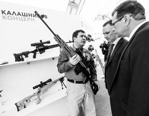 Ранее США ввели санкции против крупнейших производителей оружия в РФ, включая концерн «Калашников»