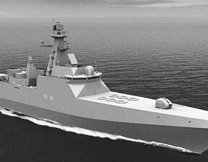 Один из вариантов российского эсминца будущего – проект 21956 разработки Северного ПКБ