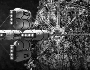 В России могут создать аппарат для добычи полезных ископаемых в космосе