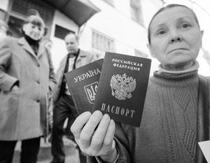 Гражданство России могут получить более 6 миллионов жителей Донбасса