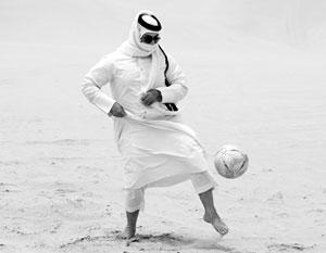В отличие от Европы и Латинской Америки, в арабском мире футбол только набирает обороты