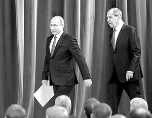 О своем предложении к Трампу Путин якобы заявил на закрытой встрече с российскими дипломатами
