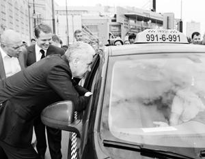 Сергей Собянин заинтересовался водителями московских такси
