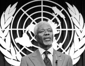 Кофи Аннана с благодарностью вспоминают по всему миру