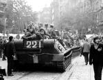 Советские танки в Праге 21 августа 1968 года