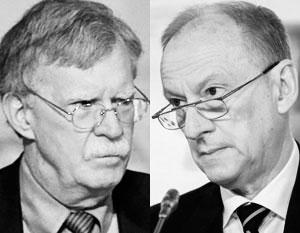 Джон Болтон и Николай Патрушев специально встретятся в нейтральной Женеве