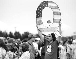 Некоторые верят, что под псевдонимом Q пишет сам Дональд Трамп