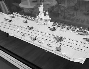 Модель «Шторм-КМ» на стенде Крыловского центра на МВТФ «Армия-2018»