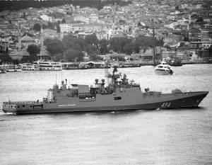 В состав нашей группировки у берегов Сирии вошел и фрегат «Адмирал Григорович»