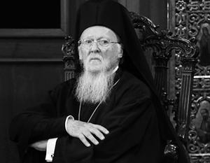 Константинопольский патриарх Варфоломей претендует на исключительные права на решение всех проблем православного мира