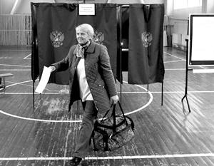 Споры вокруг пенсионного возраста не помешали довольно высокой явке на выборах