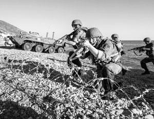Наша армия проводит маневры далеко от сирийских берегов, но расстояние тут не имеет значения