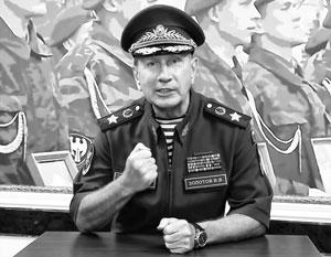 Виктор Золотов вызвал Алексея Навального на поединок