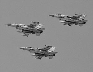 Израильские F-16 десятки раз за последнее время наносили удары по территории Сирии