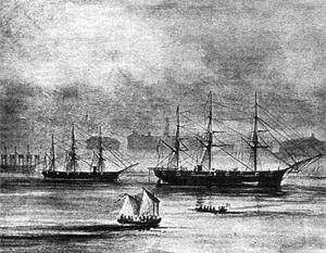 Наличие в Нью-Йорке дружественных российских военных успокаивающе действовало на сторонников Линкольна и отрезвляюще – на его противников