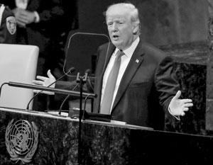 Дональда Трампа удивила реакция зала на его речь