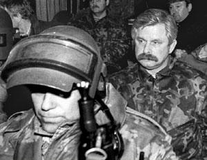 Спецназ не столько арестовывал Руцкого, сколько охранял его