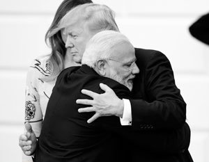 Сколько Трамп ни давил на Моди, он, похоже, так и не сумел помешать индийцам купить наши зенитки