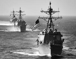Может ли американский флот перерезать морские коммуникации России?