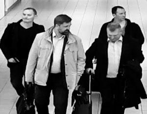 Алексей Моренец, Евгений Серебряков, Олег Сотников и Алексей Минин. Именно они высланы из Нидерландов из-за обвинения в работе на ГРУ