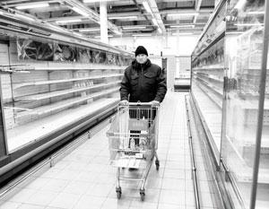 Российская розница пугает дефицитом продуктов