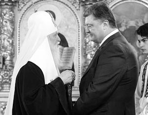 Филарет и Порошенко уверены, что добились своего