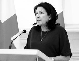 Когда угроза санкций стала реальной, Зурабишвили стала просить Москву «не следовать эскалации»